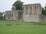 More Glastonbury Abbey ruins