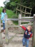 Ready to climb Glastonbury Tor