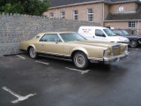 American car -- it even had left hand drive