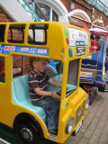 Stationary vehicle