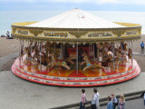 Topside view of the second merry-go-round