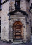 A castle door