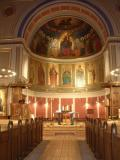 Interior of St. Ansgar's Catholic Church.