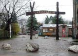 Free City of Christiania founded by hippies in 1971