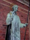 Sad St. Ansgar since only 16 participants were at Sunday Mass.