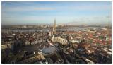Antwerpen vanop de Boerentoren