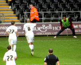 Easter Looks Delighted at Pratley's Goal