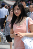 Koreans girls in the street - (Seoul 13-06-2009)