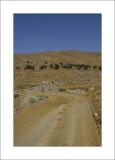 Back road from Skala Eressou to Sigri