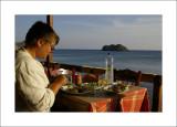Dinner in Skala Eressou