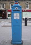 Blue Police Post