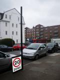 Fallen Traffic Sign