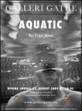 Aquatic - my  exhibition at Galleri Gathe