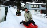 Racing on snow