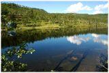 Mountainlake reflection
