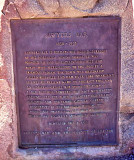 Historial Marker In Sawyer's Bar ( Rarely Used As A Resupply Today Along The PCT