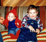 Baby Domanic And Son Dusty