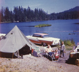 Camping  Elbow Lake  1964