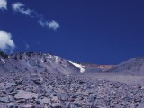 View Looking Up Flanks Of  Mt. Shasta  In Drought Year 1977