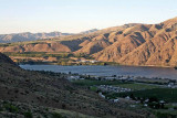 Above Entiat Views Of Columbia  And Orchards