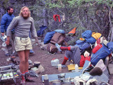 Ron Hall   Better Known As  Chairman   Group Camping For Dinner