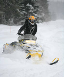 Snowmobiling Is A Big Part Of Winter Here