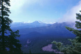 Mt. Jefferson Looking Back South  From PCT, 1977