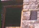 Muir Hut With Bronze Sign, 1977