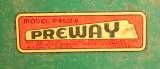 1930's PreWay Label