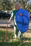 Camp 7  Sleeping Bag Of Teddi Boston's