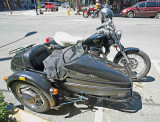 Webley Vickers 650 With Sidecar