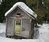 One Of Trinity's Relic Cabins ( From Old Copper Camp Days )