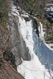 SIlver Falls In Winter
