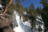 Winter View Of  Silver Falls