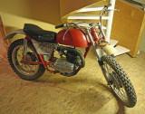 Old Bultaco 250 Dirt Racer