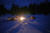 WInter Snowshoeing Along The Pacific Crest Trail