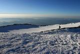 Summit Crater Of Rainier