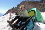 Deems After Climb At Ingram Flats, 11,500ft.
