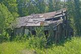 Old Cabin in Ghost Town  of Liberty