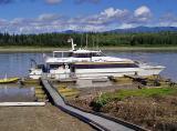 Yukon Queen. docked at Eagle Alaska