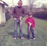 Monte and Jason with Big Trout ( April 1976)