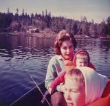 Fishing at McIntosh Lake Opening Day ( April 1964)
