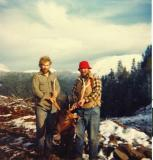My First Elk ( Mountain St. Helens 1983) Me and Dad