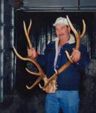 Dad with Large Elk Rack ( 1992)