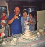 Mom and Dad on their 25th anniversery ( 1982)