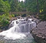 Deception Falls of Stevens Pass