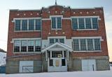 Brick School  in  New Molson  half mile away from  Old Molson