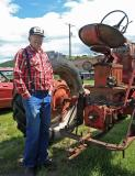 Gary Allen And Tractor