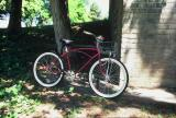 Summer Means Bike Riding ( My 50's Cruiser With Two Speed Hub)