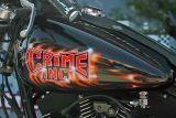 Crime Inc. ( Local Harley Paint Job on nice bike0